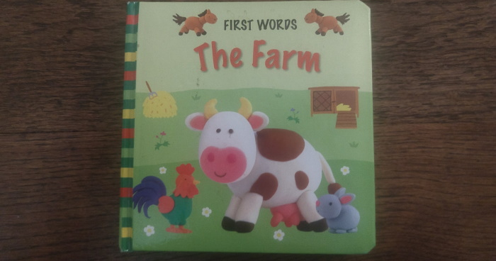 Front of First Words The Farm