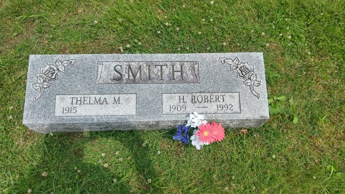 Thelma M (1915 - ) and H Robert Smith (1909 - 1992)