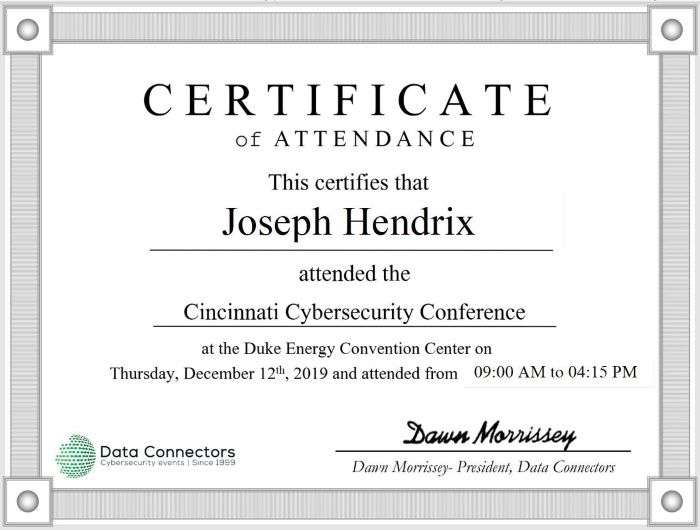 The 2019 Cincinnati Cybersecurity Conference