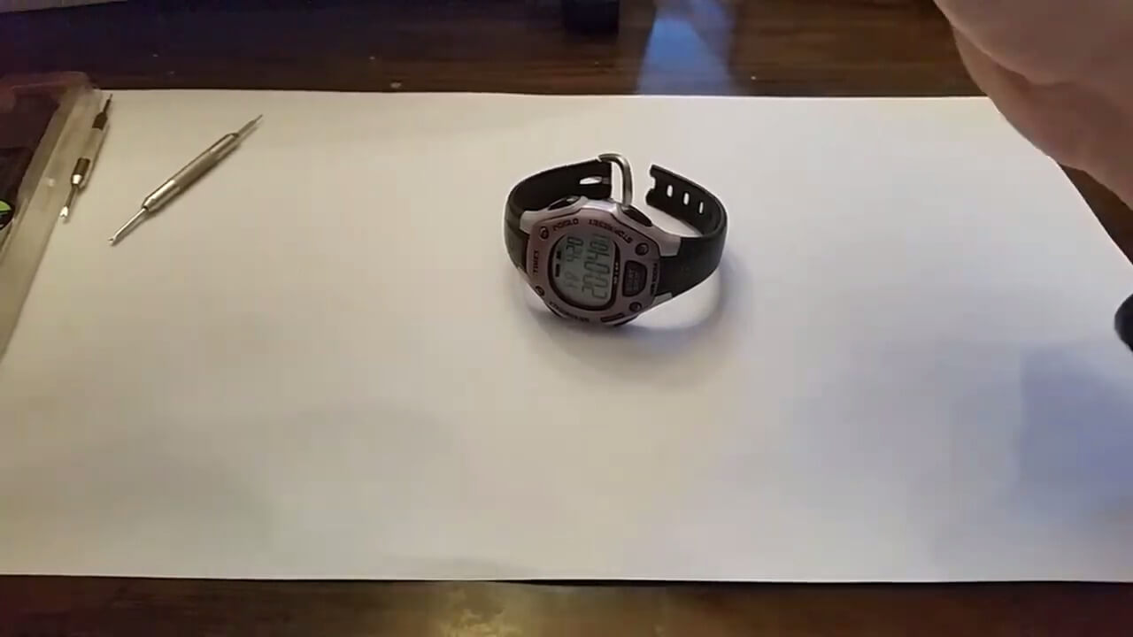 Fixing My Wife's Timex Ironman Watch