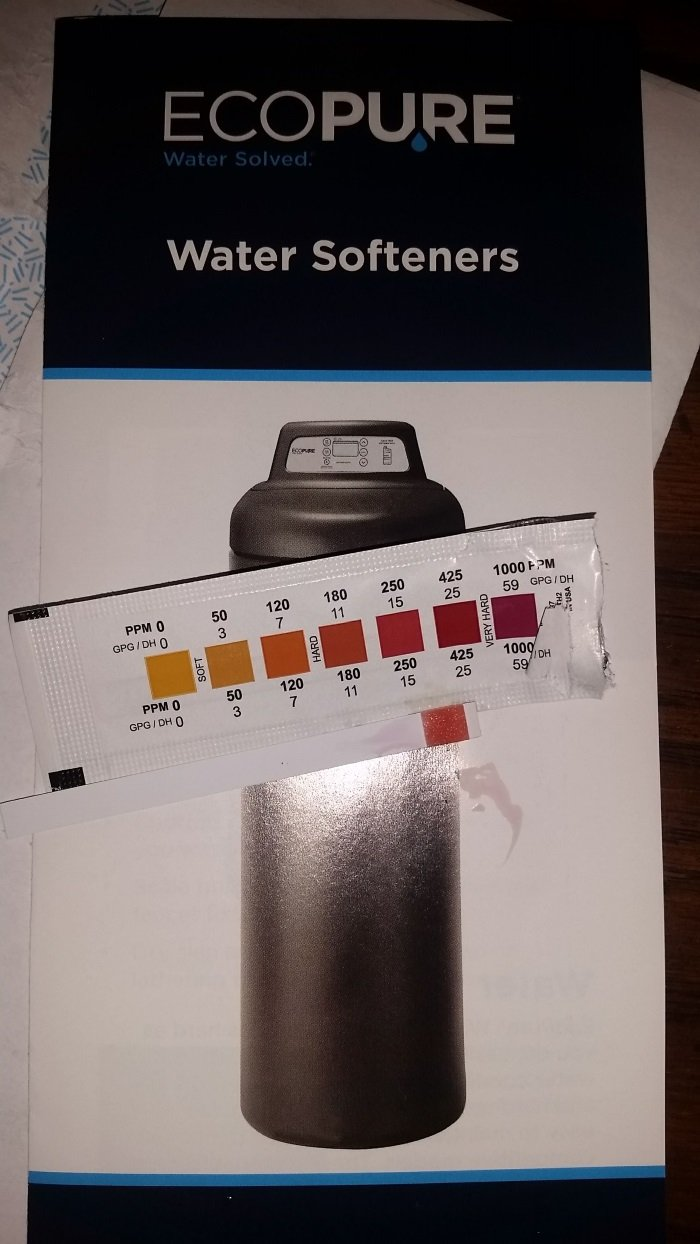 The Ecopure Pamphlet with the Test Results