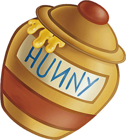 Winnie-the-Pooh style honeypot