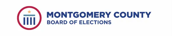 The Montgomery County Board of Elections logo.