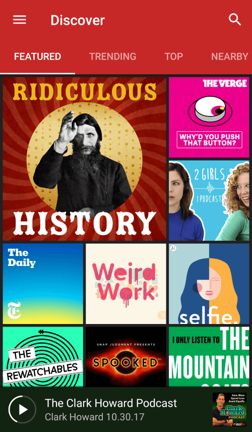 The Top Seven Podcasts to Start Listening To