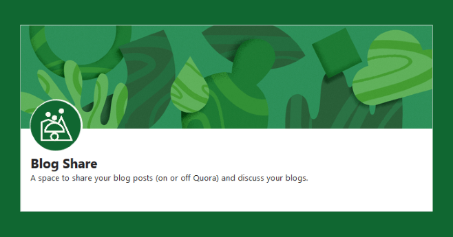 Increase Blog Traffic and Get More Backlinks By Sharing to this Quora Space
