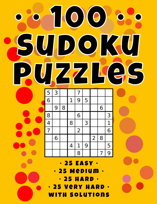 "I Published My First ""Low Content"" KDP Book - A Sudoku Puzzle Book"