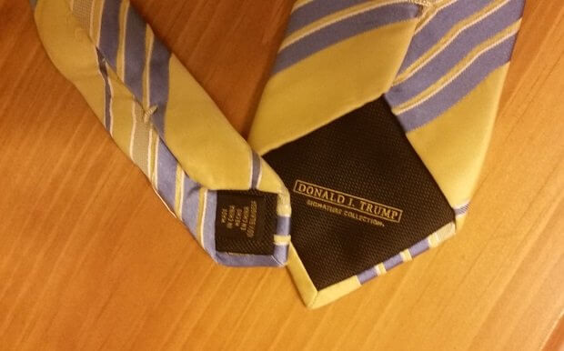 The Chinese Trump Tie