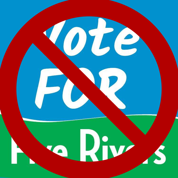 Vote No - Five Rivers Metroparks Levy