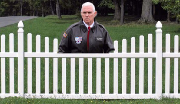 Pence on a Fence